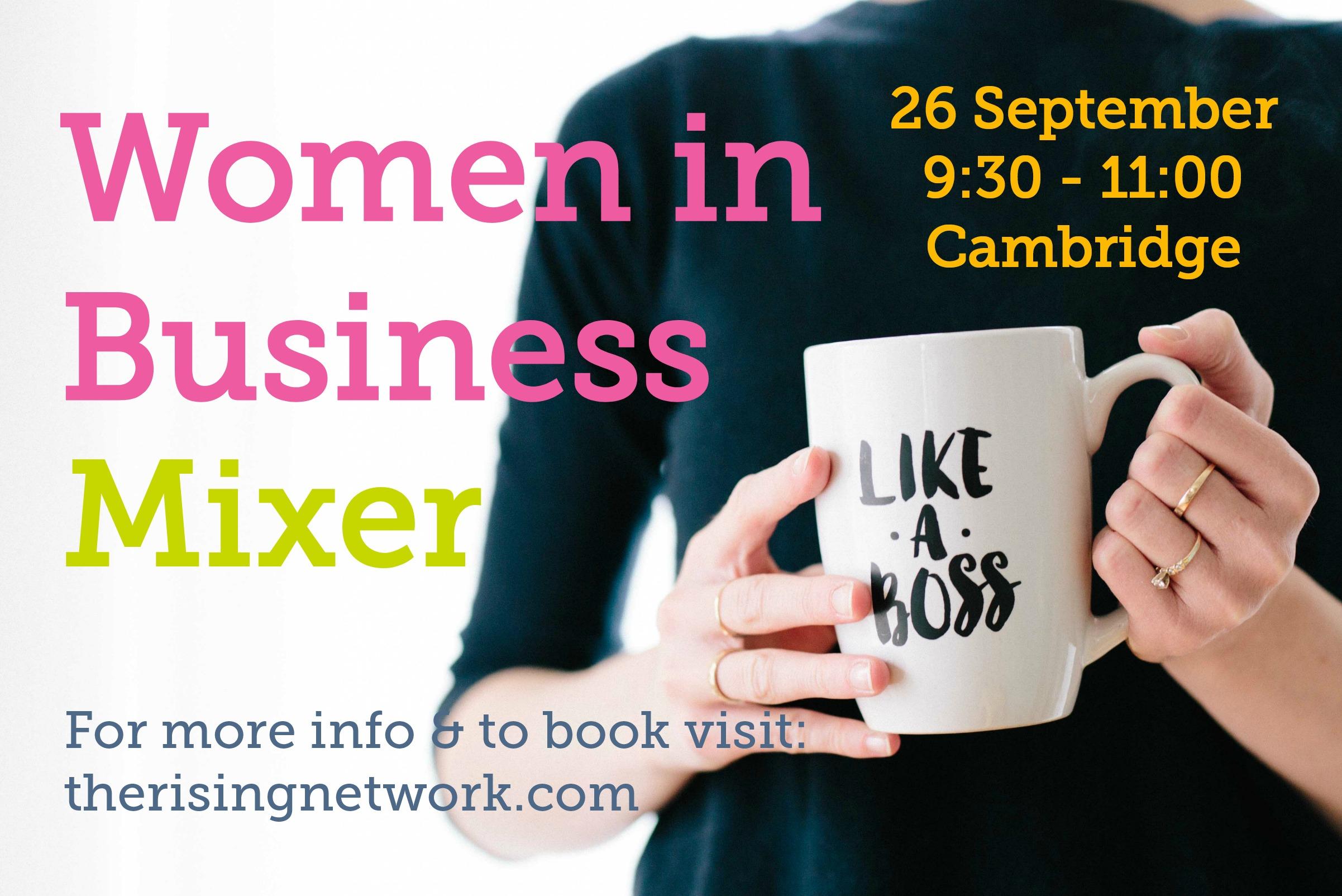 women in business mixer sept