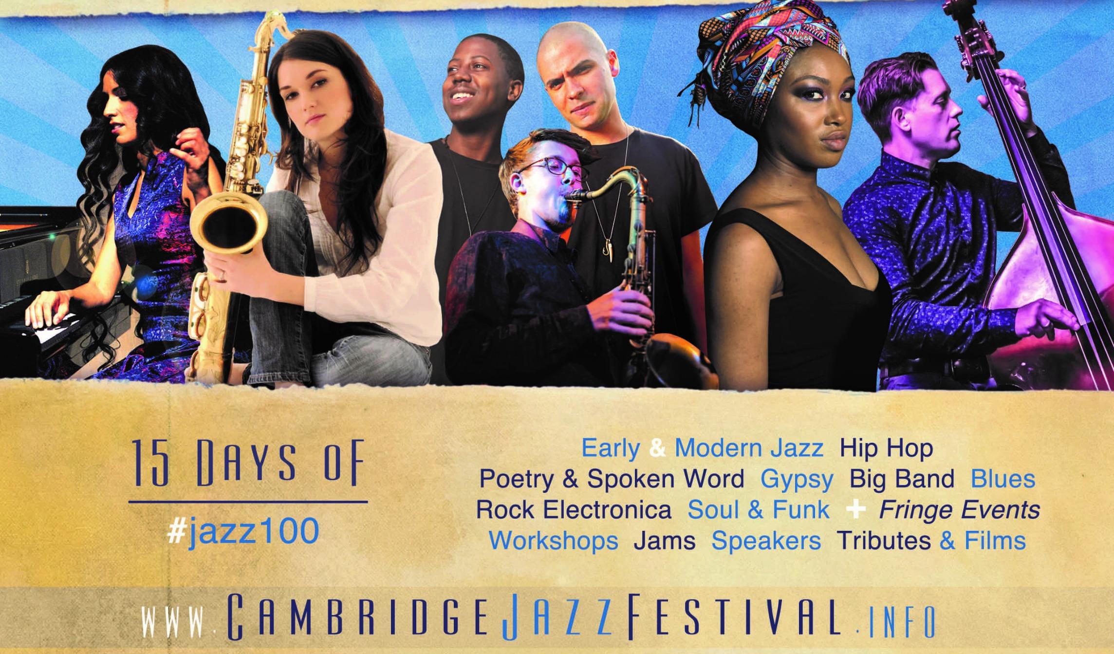 Cambridge International Jazz Festival Cambridge 2018 v2