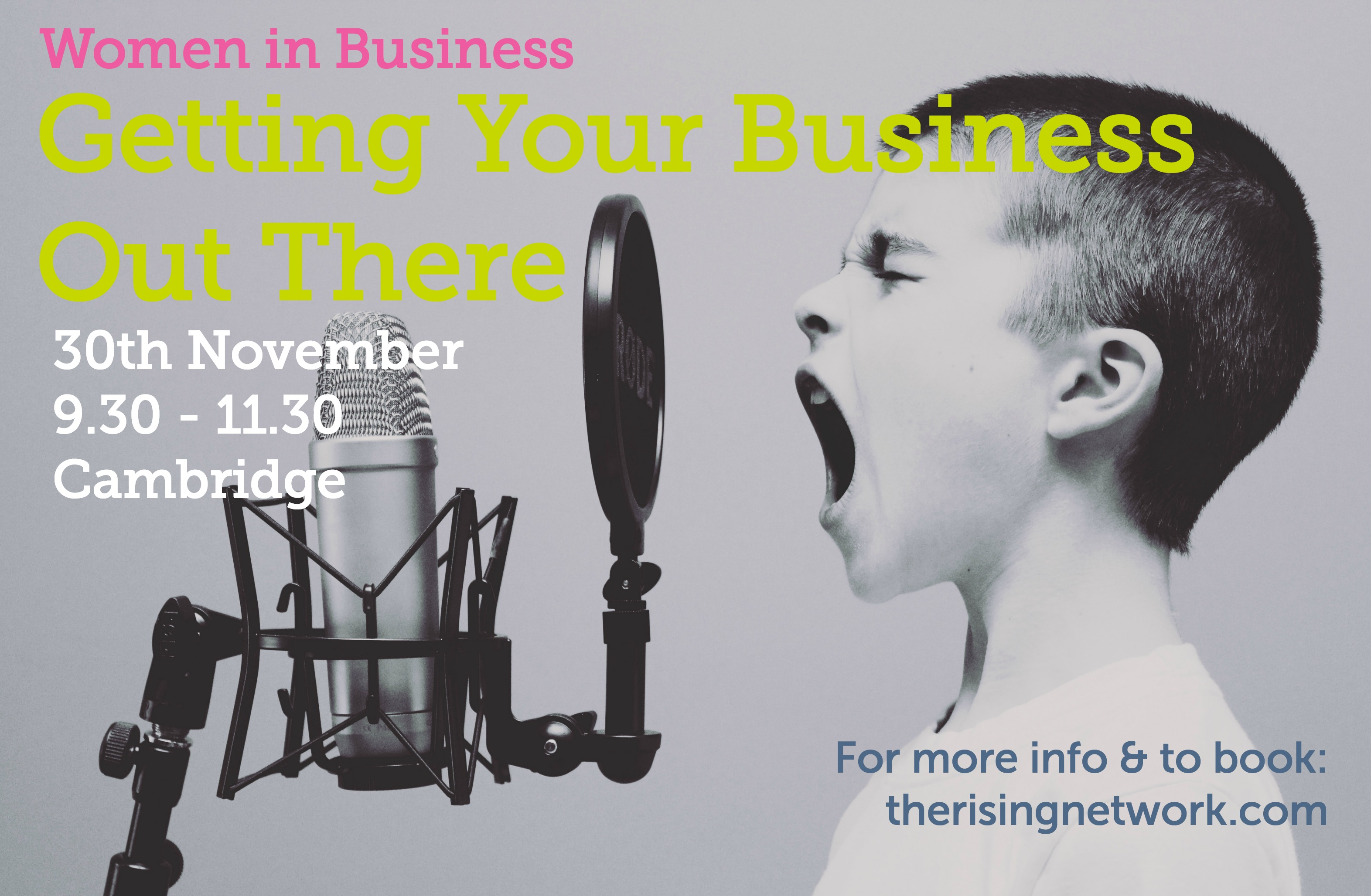 Getting Your Business Out There Women in Business 30th Nov 2017