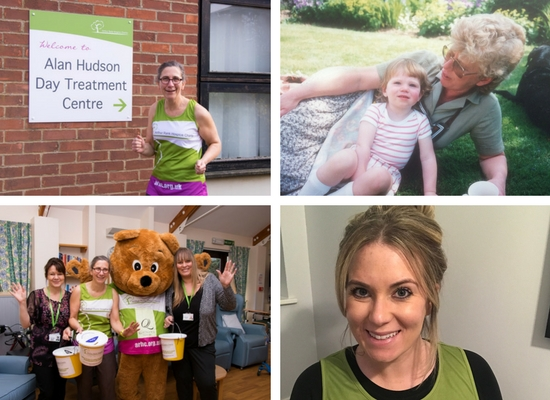 Alan Hudson Day Treatment Centre, Arthur Rank Hospice Charity, Runners, Fundraising, Cambridge, Wisbech, Marathons, Bereavement, Myelodysplastic syndrome (myelodysplasia), in memory, staff nurse, family life.