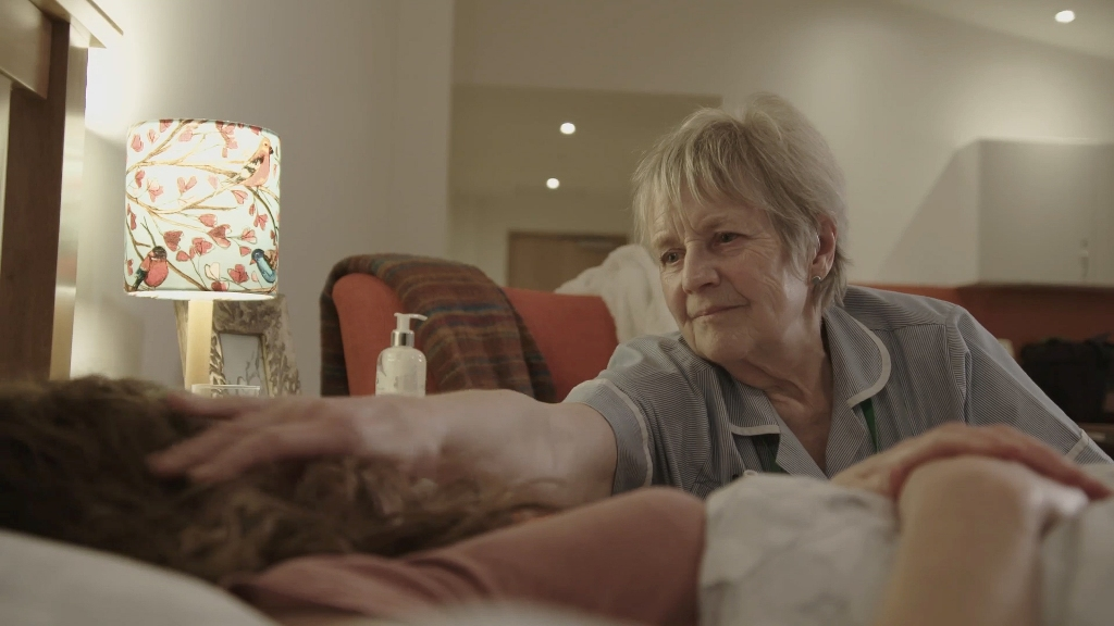 Stills from the powerful film, which introduces Arthur Rank Hospice's 'Help Us Be There' campaign. The Charity is aiming to raise £100,000 to fund an additional 200 nights of care.